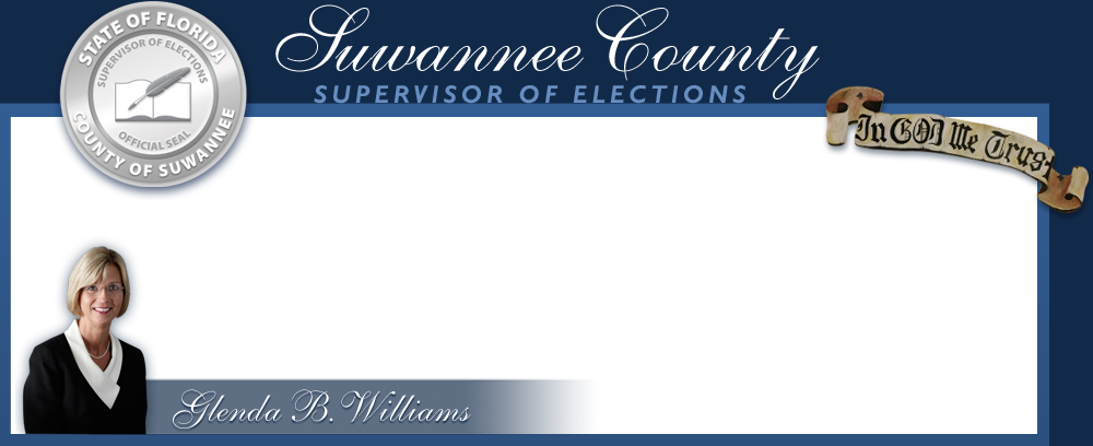 Suwannee County Supervisor of Elections Glenda B Williams